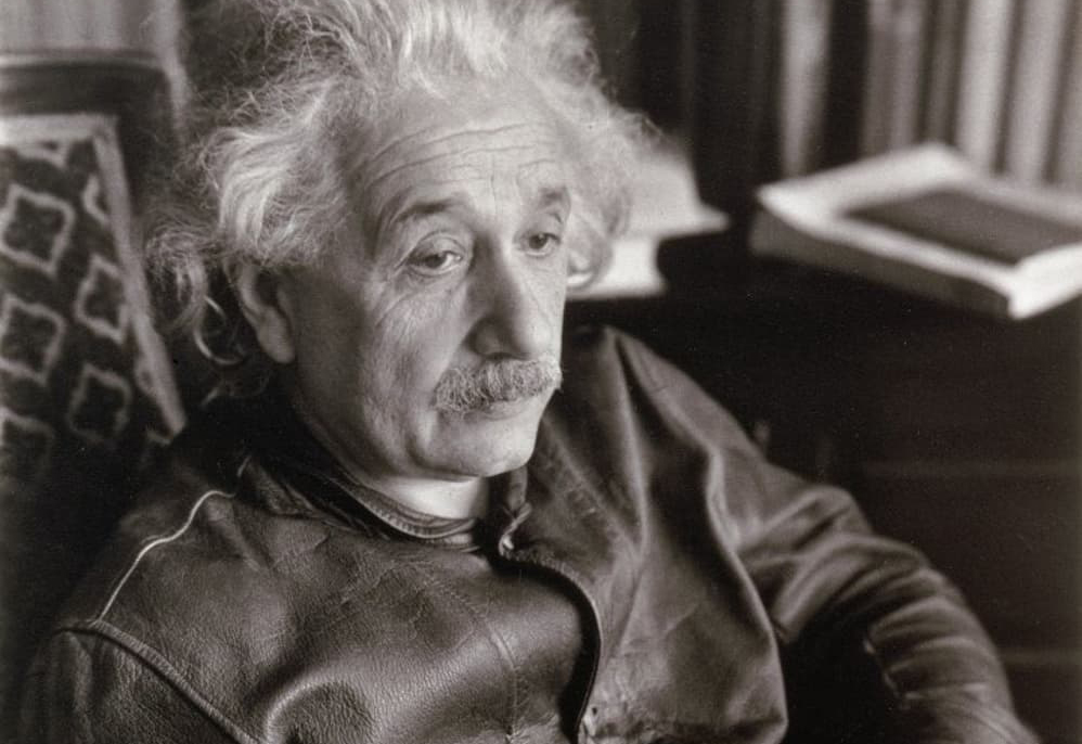 Einstein's jacket still looks great, even after all this time.