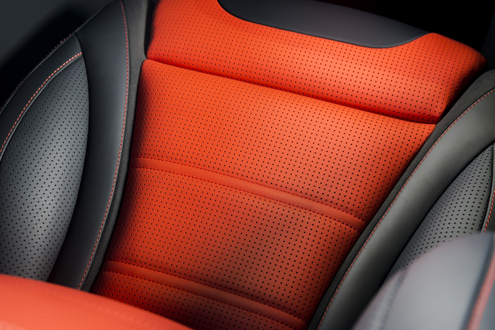 Leather is the most easily customized interior choice