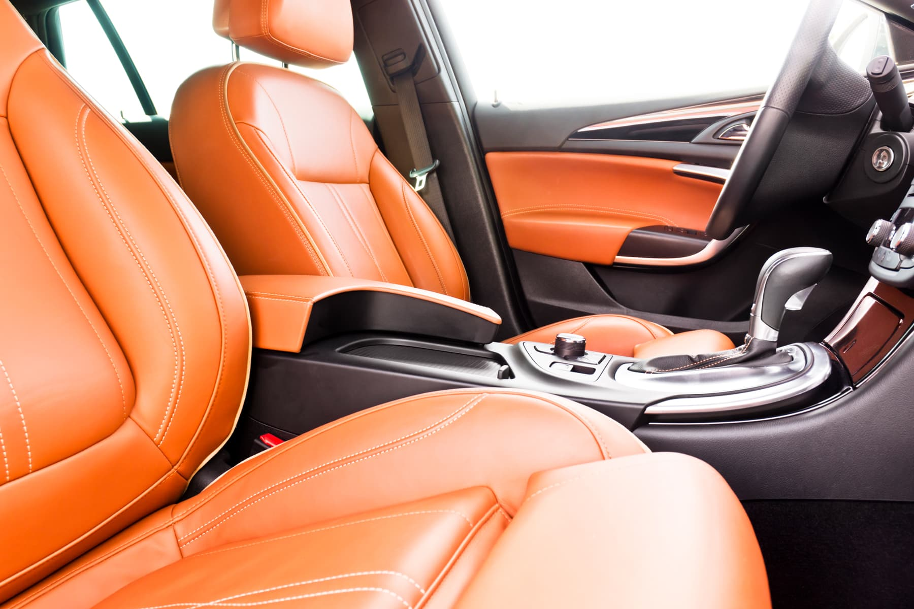 Leather is the preferred car upgrade