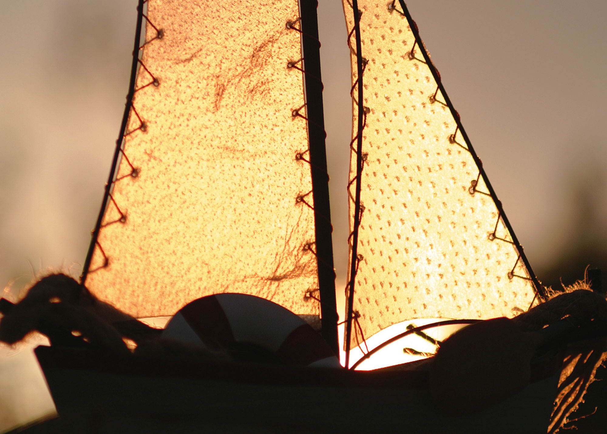 Ancient sea farers used leather sails to brave the Atlantic